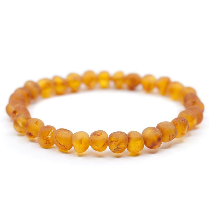 unpolished honey adult bracelet